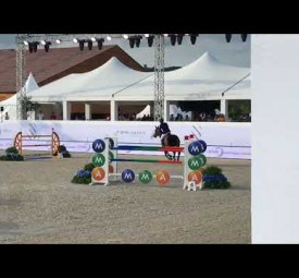 Uno 11th at the CSI4* of Valence.
